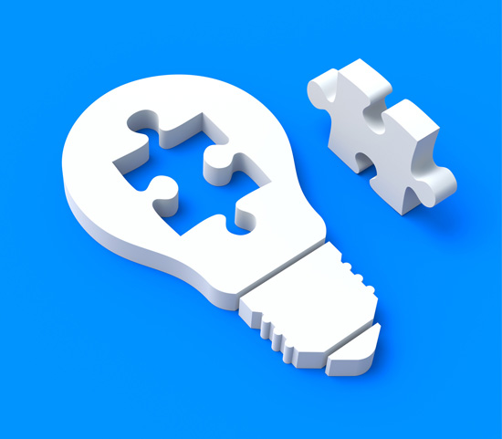 Find Your Missing Piece - Your Lightbulb Moment